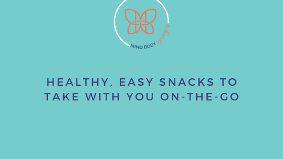 You can manage those hunger pains and overeating by carrying healthy, easy snacks with you wherever you go during the day.