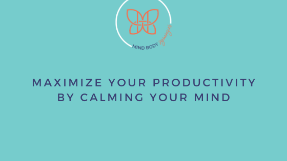 Calming your mind is a great way to be more productive. Healthcare professionals can reduce stress and anxiety by learning how to calm their minds.