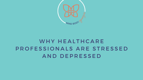 Healthcare professionals deal with being stressed and depressed. They have stigmas to face about seeking help. Prevention is key before it's too late.
